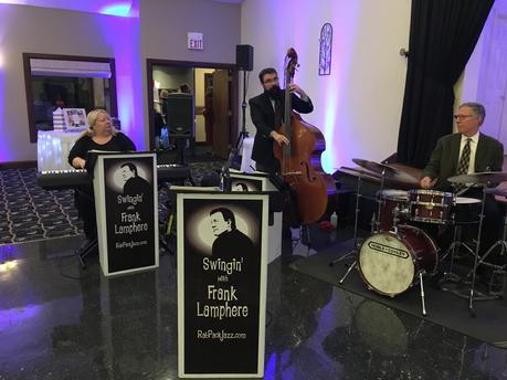 Frank Lamphere's jazz trio in Cleveland